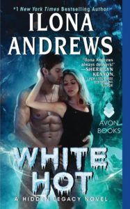Book cover of White Hot by Ilona Andrews